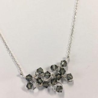 Zilver collier