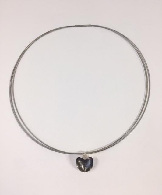 Zilveren hanger